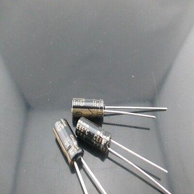100pcs Elna Cerafine Roa 10mfd 16v 10uf 5x11mm Electrolytic Capacitor