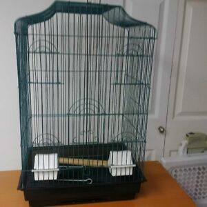 BRAND NEW LARGE DECORATIVE COCKATIEL CAGE, $50.00, MADE IN USA