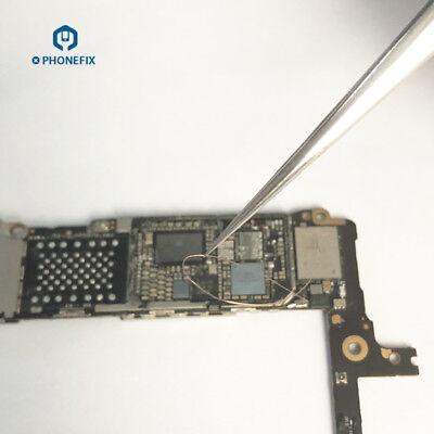 Tweezers Steel Sharp Pointed Jumper Wire Tweezers for Mobile Phone Repair Tool