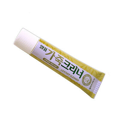Leather Cleaner Polish Tube 45g Cleaning Cream for Shoes Bag Sofa Couch