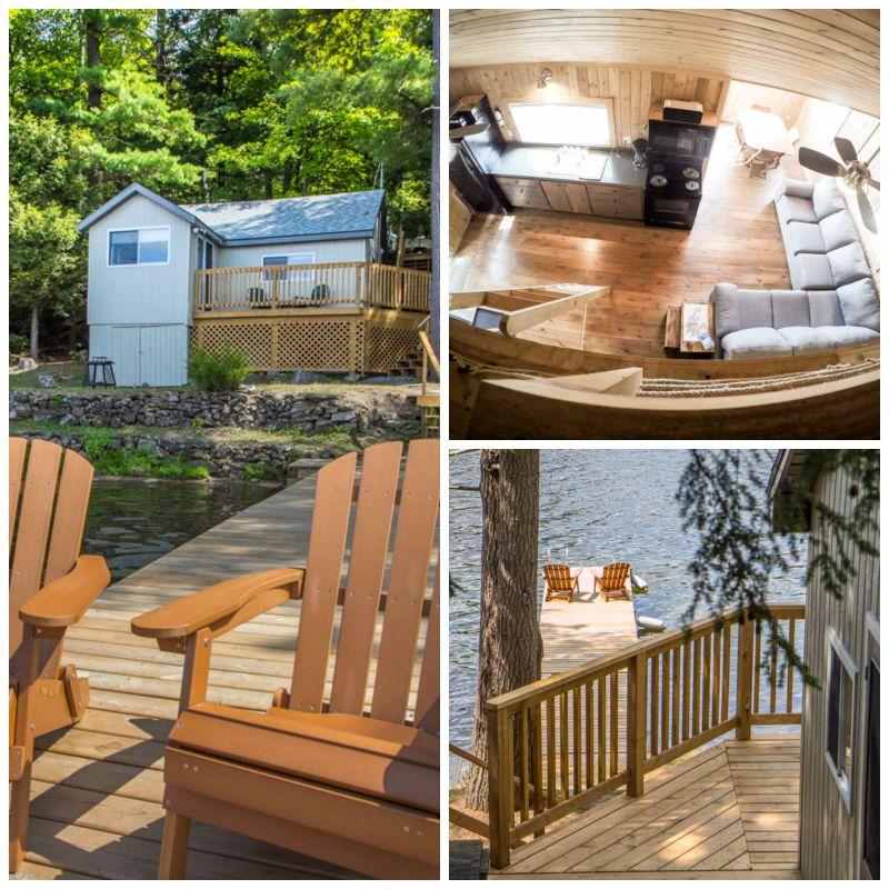 Charleston Lake Rental Cottage - Sandy Cove