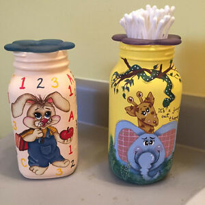 hand painted mason jars Kingston Kingston Area image 1