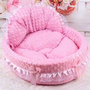 Hot Pet Bed Soft Lace Kitten or Dog
