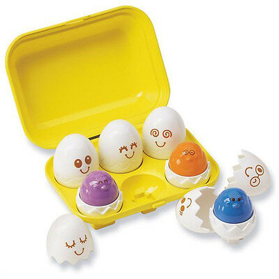 Tomy 1581 Play to Learn Hide N Squeak Eggs From Birth