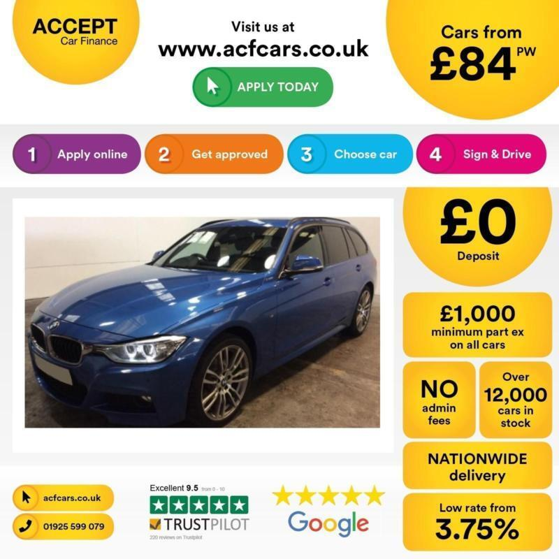BMW 320 M SPORT FROM £84 PER WEEK!