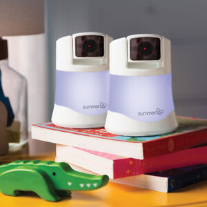 Brand New/No Tax/Summer Infant Side by Side Video Baby Monitor