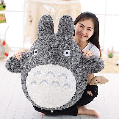 Mein Nachbar Totoro Plüsch Puppen Kissen Anime gefüllte Spielzeug Geschenk DE