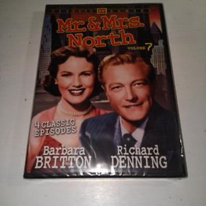 DVD Mr.& Mrs. North Vol. 7 1953-1954