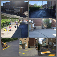 Asphalt paint and repair