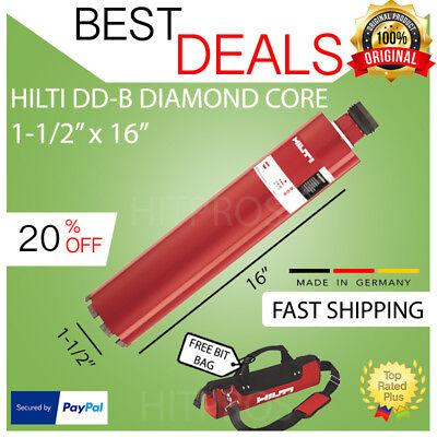 Hilti Diamond Core Bitdd-b 1-12 X 16pl High End Brand Newmade In Usa
