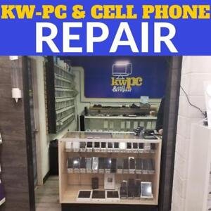Cracked screen? Water Damage? UNLOCK? Want to buy a PHONE or CASE? @ KW-PC CELLPHONE---309 Lancaster st west Kitchener