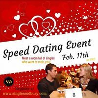 Come Speed Dating on Thursday February 11th.