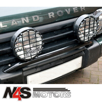 "LAND ROVER 8"" LIGHT 100 WATT BLACK PAIR. PART DA4088"