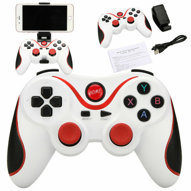 Wireless Bluetooth Gamepad Joystick Joypad Game Controller for Android Devices Controllers & Attachments