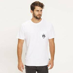 AFENDS FLAME II MENS TEE sz m The Junction Newcastle Area Preview
