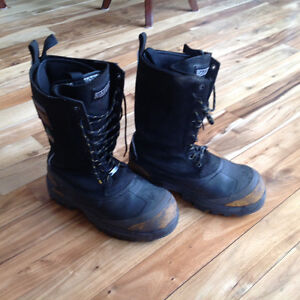 Dakota steel toe winter boots