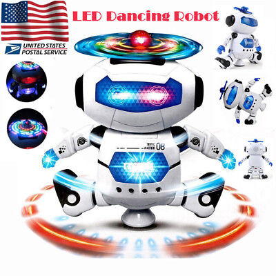 Toys For Boys Robot Kids Toddler Robot Dancing Musical Toy Birthday Cool Gift