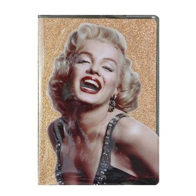 Glitter A5 Notebook Marilyn Monroe Pop Star Famous Singer Journal Stationary