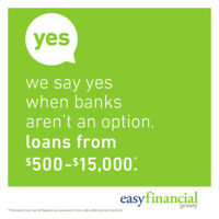 Looking to rebuild your credit and need a loan? We say YES!!