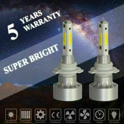 - Four-sided Car Light COB 9005 HB3 LED Headlight Bulbs Conversion Driving Lamp
