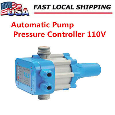 Automatic Switch - Automatic Electronic Switch Control Water Pump Pressure Controller 110V US Stock