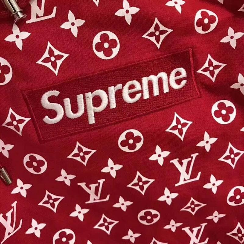 Supreme x Louis Vuitton Box Logo Hoodie