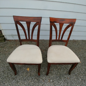 Pair Of Chairs In Very Good Condition