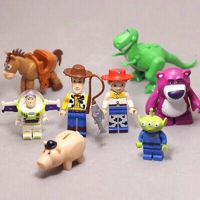 Toys Story 4 Action 5cm Building Blocks kids Toy Woody Buzz Jessie Gabby Alien