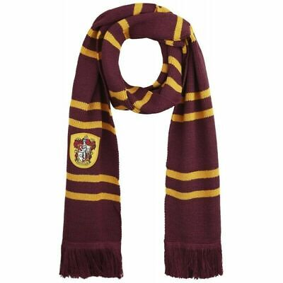 Harry Potter Scarf Gryffindor (Harry Potter Gryffindor Knit Wool Soft Warm Cosplay Scarf for Halloween)