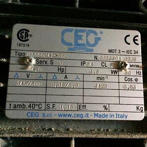 4.8Hp Motor
