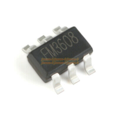 5pcs Fm3608 Sot-23-6 Current Mode Step-up Dc-dc Converter Chip Ic