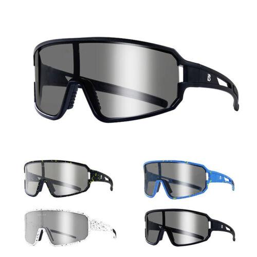 Photochromic Cycling Sunglasses MTB Road Bike Bicycle Goggles Polarized Eyewear