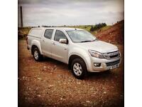 2015 Isuzu D-Max Eiger 2.5 TD Twin Turbo in Silver 36k miles Towing 3.5 Ton