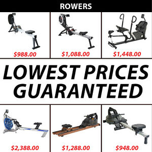 ROWERS ON SALE !!!!Guaranteed Lowest Prices in North America!!!!