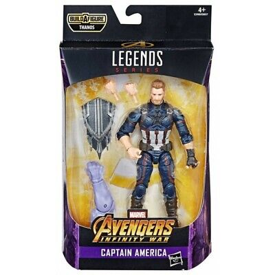 Marvel Legends 6 inch Figure Best of Thanos Wave - Captain America -