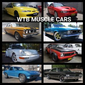 WTB YOUR MUSCLE OR PRESTIGE CAR Auburn Auburn Area Preview