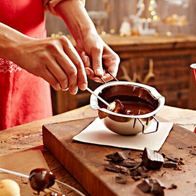 Stainless Chocolate Butter Melting Pot Pan Home Kitchen Milk Bowl Double Boiler