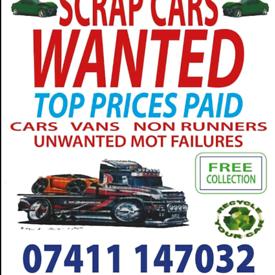 SCRAP WANTED CARS AND VANS