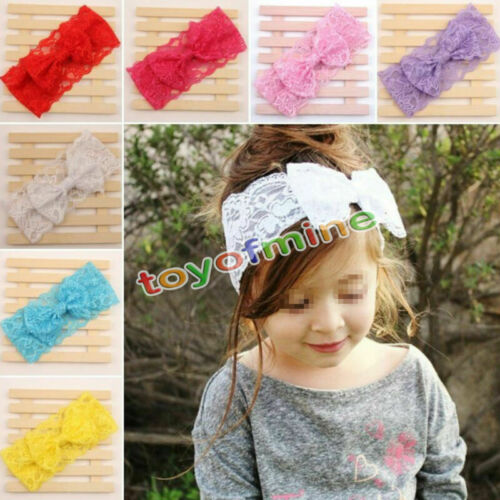 Kids Girl Toddler Hair Accessories Headband Bowknot Hair Band Baby Headwear