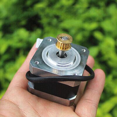 1.8 Degree 42mm Nema17 2-phase 4-wire Stepper Motor Copper Pulley Cnc 3d Printer