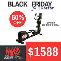 Smooth CE 9.0 Elliptical Black Friday Deals Blowout Sale
