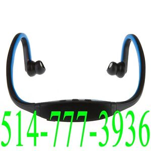 Écouteur + Micro Bluetooth Headset Earphone For Cellphone et PC