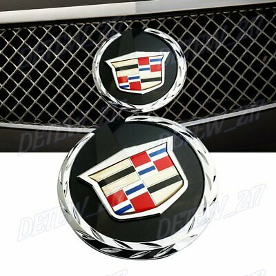 Brand New 2007-2014 Escalade Front Grille Emblem Badge For Cadillac 22985035