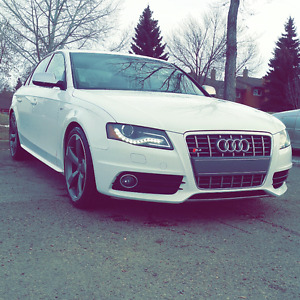 2010 Audi S4 Sedan with magna red interior and extended warranty