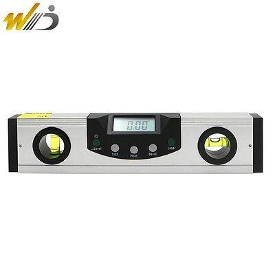 200mm Digital Spirit Level Inclinometer Electronic Protractor Angle Laser Level