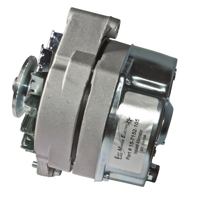 Delco Style 10-SI Alternator 12V 94 Amp One Wire Hook Up 20102 18-5950