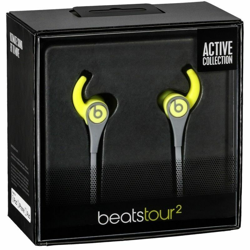 Beats by Dr Dre Tour2 Wired In-Ear Headphones Earbuds with