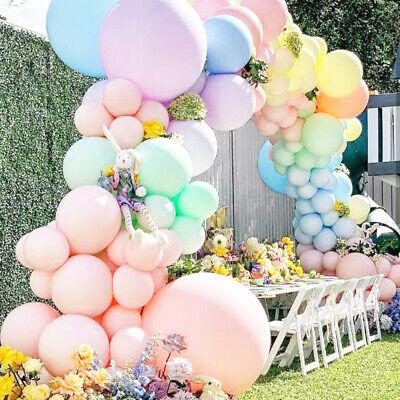 5/12/18/36 inch Jumbo Giant Pastel Balloons Wedding Party Macaron Arch Backdrop (Pastel Balloons)