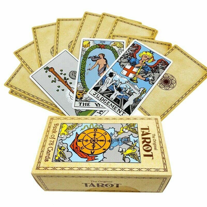 Original Rider Waite Tarot to RWS 78 Cards Deck Alternative for Beginners