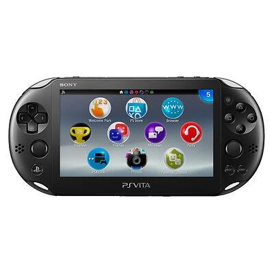 Sony PlayStation Vita Slim Black Handheld System